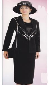 Couture Negro Trajes para