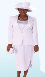 SKU*KA6897 Lynda Couture promocional Trajes para Mujeres  - Blanco