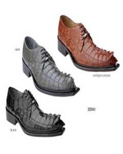 Hornback Avestruz Cuero Zapatos