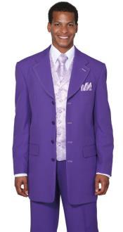 Moda Púrpura 3 pieza