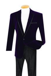 Botón Púrpura Recortar Cena