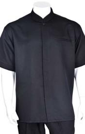 congregado Collar Casual Camisa