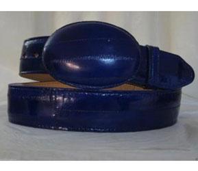 Eléctrico Azul Anguila Piel