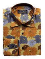 Floral Diseño Lujoso Camisa