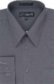 RJ800 Hombres Carbón Camisa