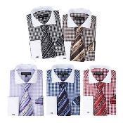 Mezcla Comprobar Blanco Collar