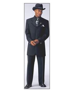 SKU * RBL893 4 Botón Negro Vestido de Moda Traje