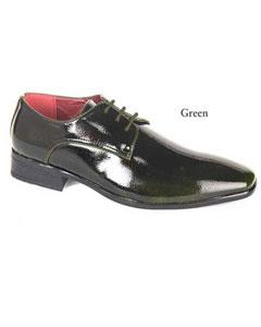 Verde vestir Zapatos