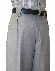 gris Pierna ancha pantalón