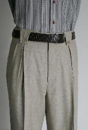 SKU*GRY8916 Hombres pierna ancha gris pantalón