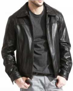 James Decano Cuero Chaqueta