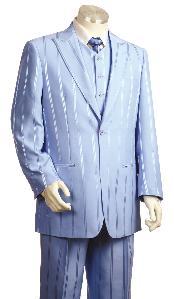 SKU*KF9400 3 Pedazo de Moda Masculino Lavander concedido Zoot Satisfacen
