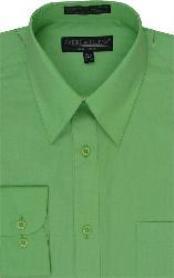 SKU * LK111 Hombres camiseta Vestido Verde Manzana