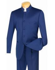 Azul mandarín Bandeado Collar