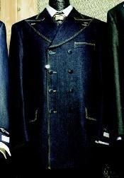SKU * TW889 Juego de la manera de 3 piezas hombres en azul marino o Negro o Marrón