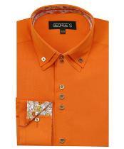 Mezcla naranja Color Camisa