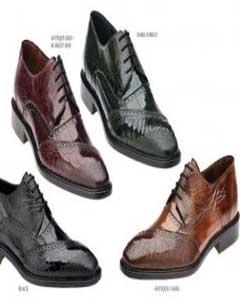 Anguila Cuero Zapatos para