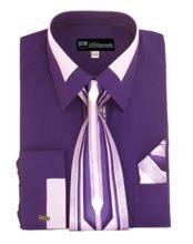 los hombres Púrpura Moda