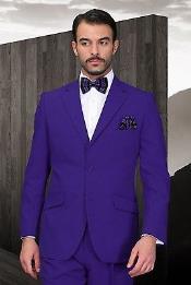 los hombres Púrpura Poli~Rayón