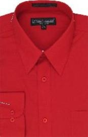 CD663 Vestido Rojo Hombres