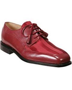 SKU*DF8121 Pastel Rojo Cordón Arriba Vestir Zapato