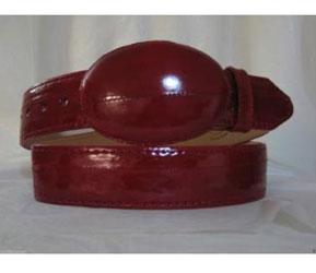 Eléctrico Rojo Anguila Piel