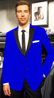 Azul Terciopelo Muesca Collar