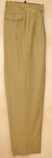 SKU*KH822 Gris pardo amplio pierna vestir pantalón