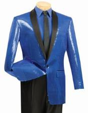Metálico Zafiro Azul Formal