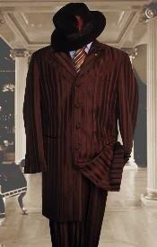 marrón brillante vestido de