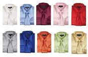 Sólido Color Vestir Camisa