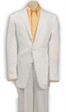 SKU*TQY366 Niños sólido blanco ligero suave de tela 3 Botón traje