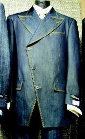 SKU * QP831 Mens 3 piezas traje de moda en Negro o de la Marina