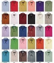 Llanura Tradicional Vestir Camisas