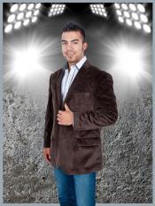terciopelo 2 Botón chaqueta