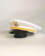 Blanco Masculino Hat