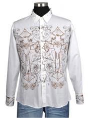 blanca casual con diseño