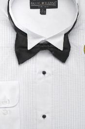 SKU * EF123 Hombres camiseta Ala Sugerencia smoking con pajarita