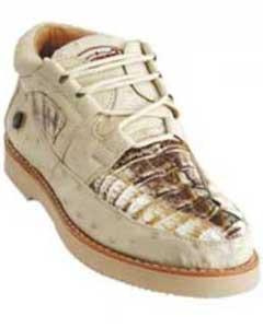 Genuina Cocodrilo Casuales Zapatos
