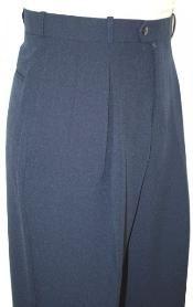 Marino de Amplios Pantalones