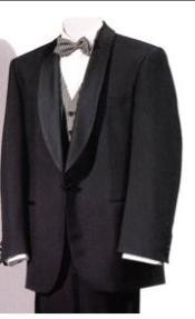 SKU * GBW12 Chal Collar Lana Tela Smoking con Arco Corbata