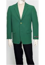 2 botón clásico verde