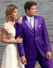 los hombres Maravilloso Púrpura