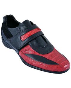 con rojo casual zapatos