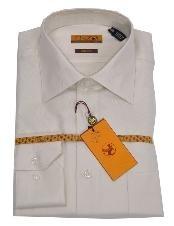 SKU*LK336 Sarga de Crema de Camisa de Puño Regular 61102-3-B