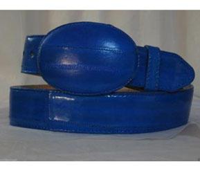Real Azul Anguila Piel