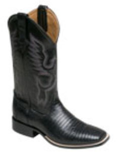 SKU * SE653 Casi Lizard botas S-Toe Ferrini Hombres de