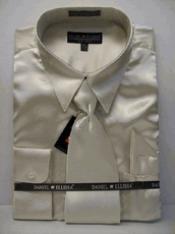 SKU * PN233 hombres La camisa de raso vestido de Nueva Tan Tie Combo Camisas