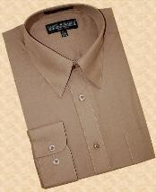 Algodón Mezclan Camisa de