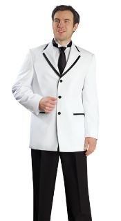 SKU * FP816 para hombre de alta moda 3 Botón Tuxedo